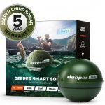 Deeper Chirp Smart Sonar – Castable, Portable Fish Finder and Depth Finder, Onshore or Offshore, Freshwater or Saltwater