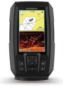 Garmin Striker 4cv with Transducer, 4 GPS Fishfinder with CHIRP Traditional and ClearVu Scanning Sonar Transducer and Built In Quickdraw Contours Mapping Software
