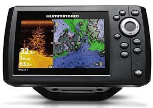 Humminbird 410220-1NAV HELIX 5 CHIRP DI (Down Imaging) GPS G2 NAV Fish Finder