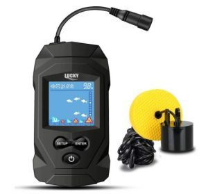 LUCKY - Fish Finders Wired Transducer for 200