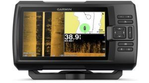 "Garmin Striker 7SV with Transducer, 7"" GPS Fishfinder with Chirp Traditional, ClearVu and SideVu Scanning Sonar Transducer and Built in Quickdraw Contours Mapping Software, 7 inches (010-01874-00)"