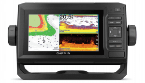 Garmin ECHOMAP UHD 63cv, Keyed Chartplotter with U.S. LakeVü g3 and GT24UHD-TM transducer