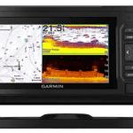 "Garmin ECHOMAP UHD 64Cv, 6"" Keyed Chartplotter with U.S. BlueChart G3 and GT24UHD-TM Transducer"