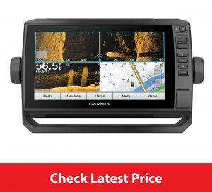 Garmin Echomap Plus 93sv Review UHD 93sv, 9 Keyed-Assist Touchscreen Chartplotter with U.S. LakeVü g3 and GT54UHD-TM transducer.jpg