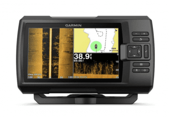 Garmin Striker 7SV with Transducer, 7 GPS Fishfinder with Chirp Traditional, ClearVu and SideVu Scanning Sonar Transducer and Built in Quickdraw Contours Mapping Software, 7 inches (010-01874-00)