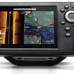 Haaumminbird 410230-1 HELIX 5 CHIRP SI GPS G2 Fish Finder, Black