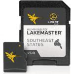 Humminbird SmartStrike Southeast States Edition Digital GPS Lake Maps, Micro SD Card, Version 4, Black