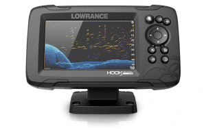 Lowrance HOOK Reveal 5x SplitShot - 5-inch Fish Finder with SplitShot Transducer, GPS Plotter