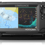 Lowrance HOOK Reveal 7 SplitShot - 7-inch Fish Finder with SplitShot Transducer, Preloaded C-MAP US Inland Mapping