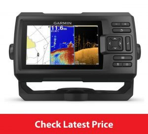 garmin striker plus 5cv reviews with Transducer, 5 GPS Fishfinder with CHIRP Traditional and ClearVu Scanning Sonar Transducer and Built In Quickdraw Contours Mapping Software.jpg
