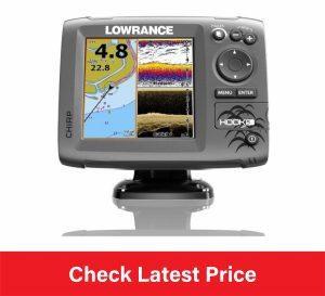 Lowrance Hook-5 SonarGPS MidHighDownscan Fishfinder